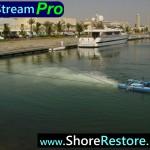 Airstream Aerator Marina Lake Bay Pond Muck Silt algae removal